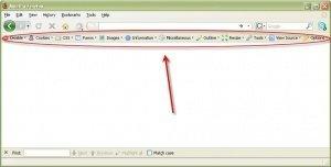 Firefox Web Toolbar SEO