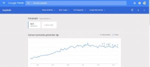 Google trends seo analiz aracı kullanımı